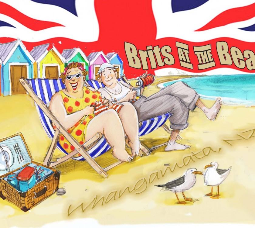 Brits At The Beach