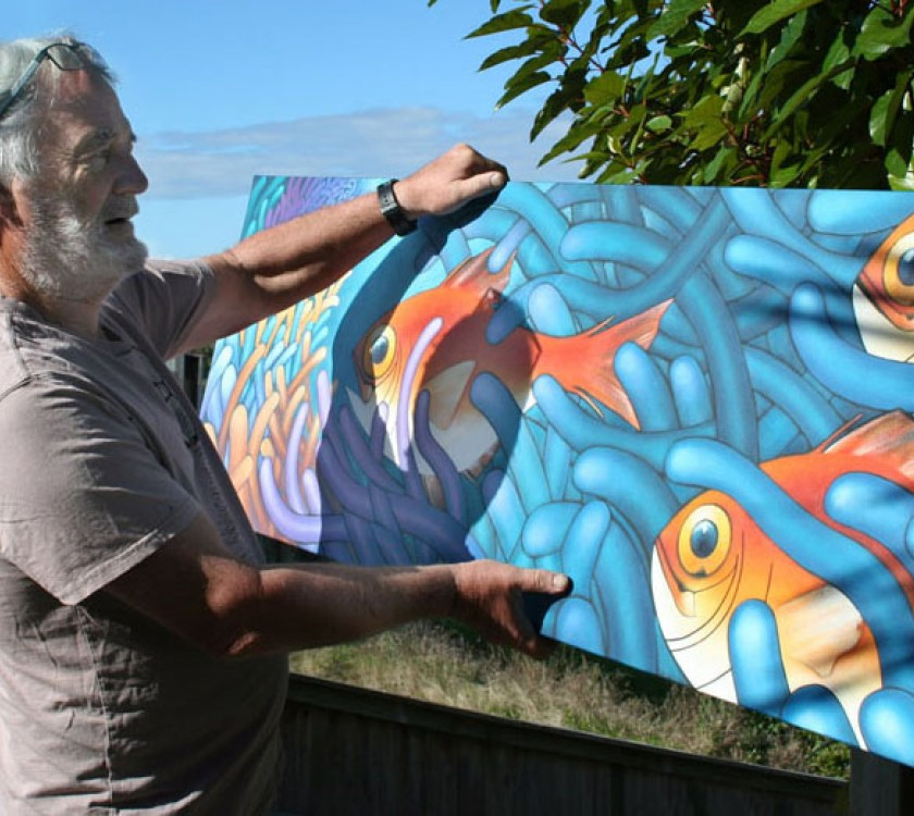 Gallery 27 - Paul holding fish
