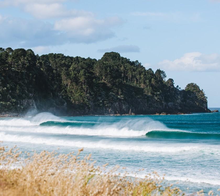 Jackson Bright Surfing Whangamata