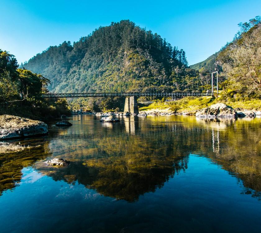 Karangahake Gorge reflection2