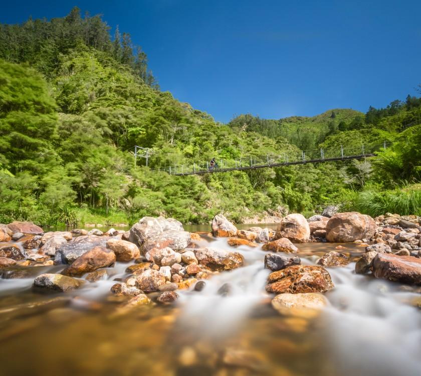 Hauraki Rail Trail - Paeroa to Waihi