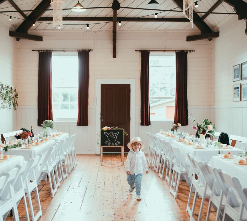 Kuaotunu Hall -  Your Dream Beach Wedding Destination