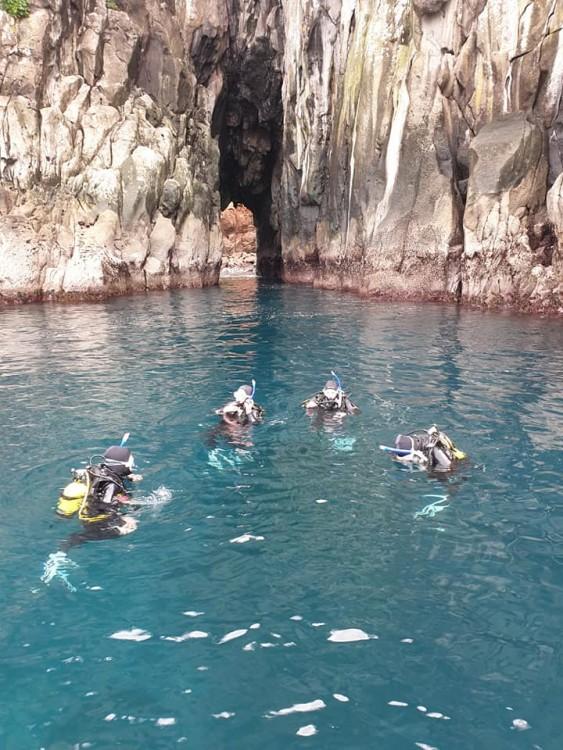 Mercury Island Korapuki Island Dive Zone