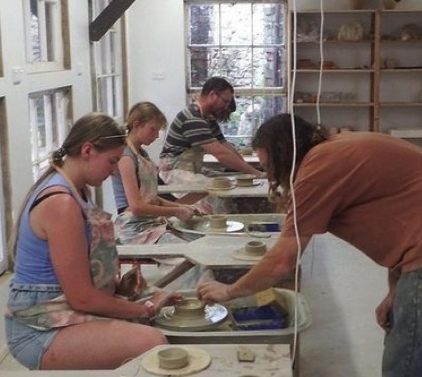 Kids Art Classes @ Driving Creek Pottery