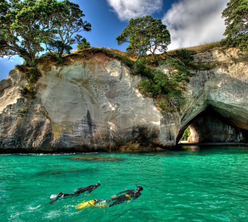 Te Whanganui o Hei Snorkel Trail