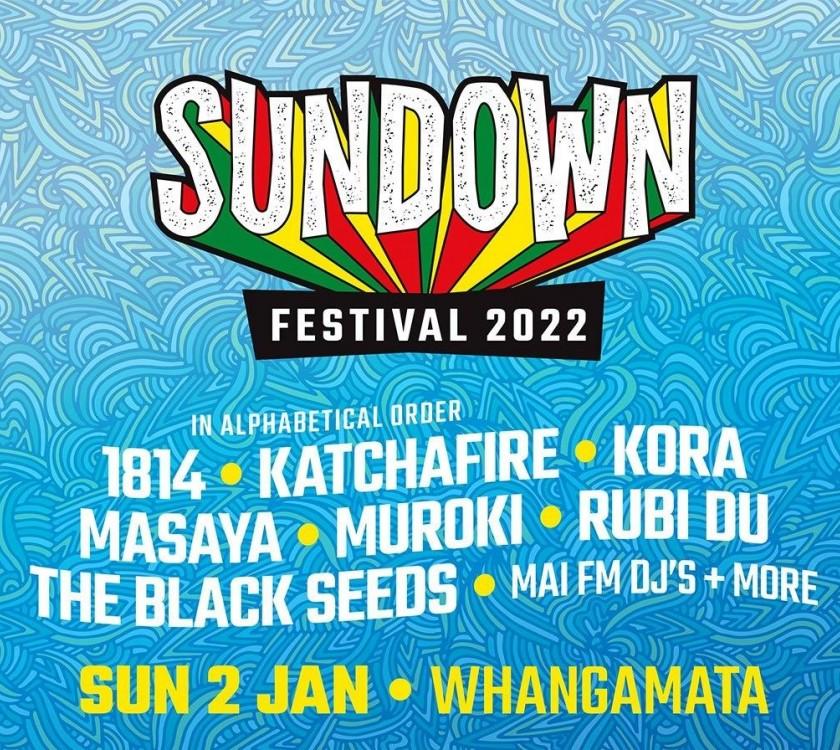 Sundown Festival Whangamata