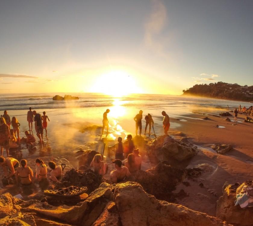 Sunrise at Hot Water Beach copy