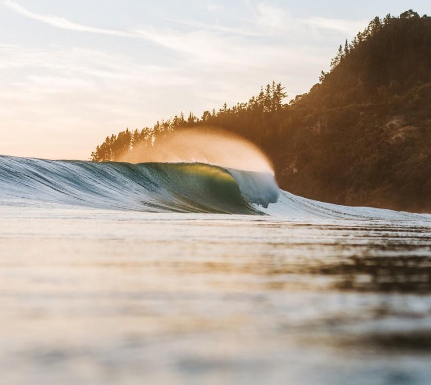 Surfing Tairua