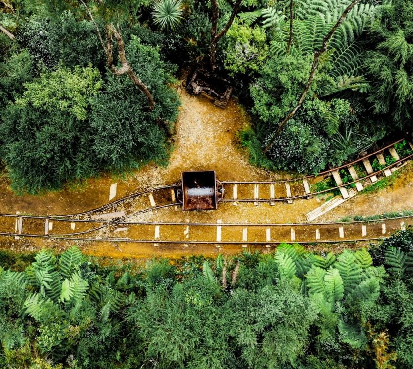 Railway Tracks Karangahake Gorge