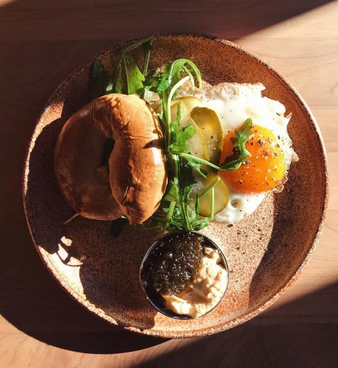 Wharf Road Breakfast Bagel