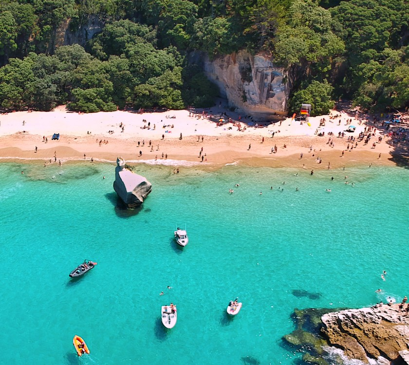 Cathedral Cove Summer