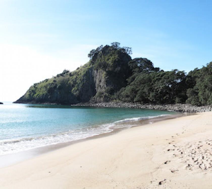 New Chums Beach White Sand